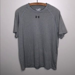 Under Armour Gray Short Sleeve Loose workout shirt